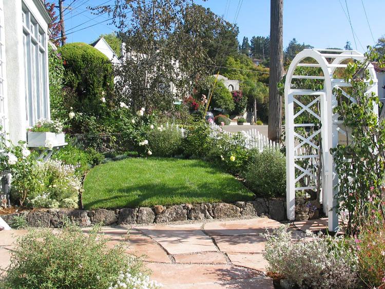 English cottage garden rockridge columbine landscaping english cottage garden rockridge workwithnaturefo